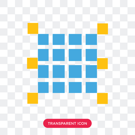 Opacity vector icon isolated on transparent background, Opacity logo concept Ilustrace