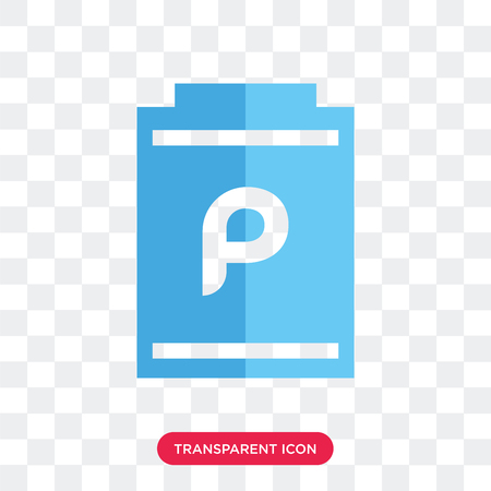 Poster vector icon isolated on transparent background, Poster logo concept
