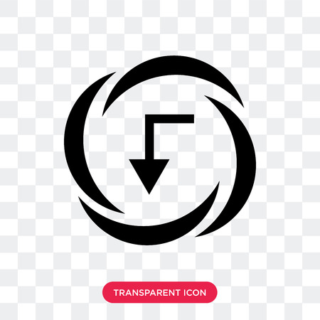 Electricity vector icon isolated on transparent background, Electricity logo concept Illustration