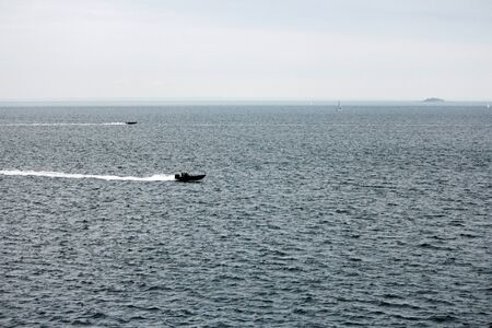 North Sea near Oslo during a speedboat race
