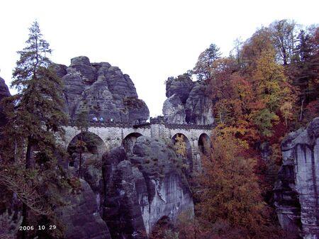 View on the Bastei bridge