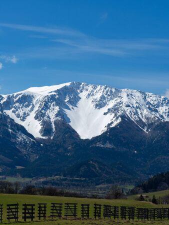 Mountain range Schneeberg Lower Austria