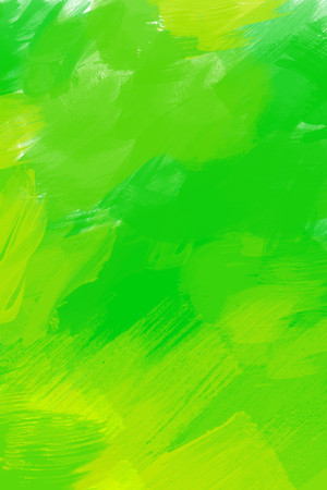 Abstract green painted background