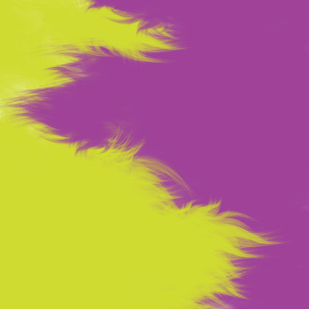 hues: Abstract fuzzy background in purple and yellow hues