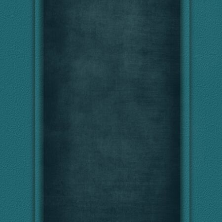 deteriorated: Abstract grey background texture with vertical dark cyan frame