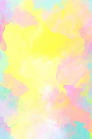 Pastel colored watercolor background Фото со стока