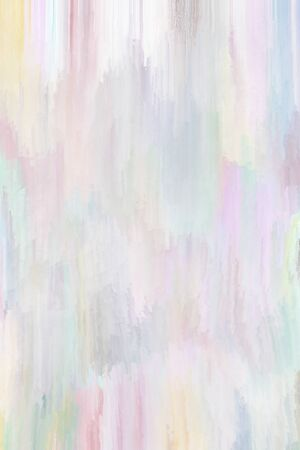 Digital painted pastel vertical background with pink and blue colors