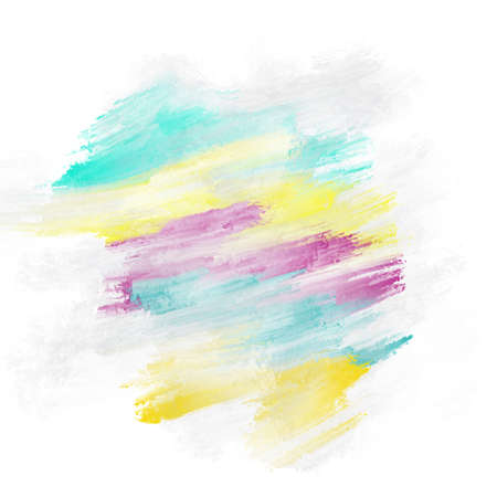 nuance: Blue, yellow and purple abstract painted for background
