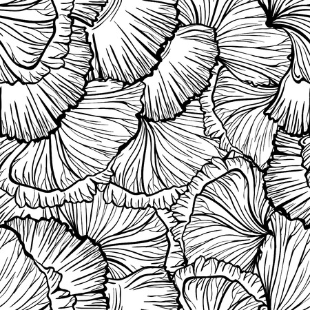 Poppy seamless pattern. 向量圖像