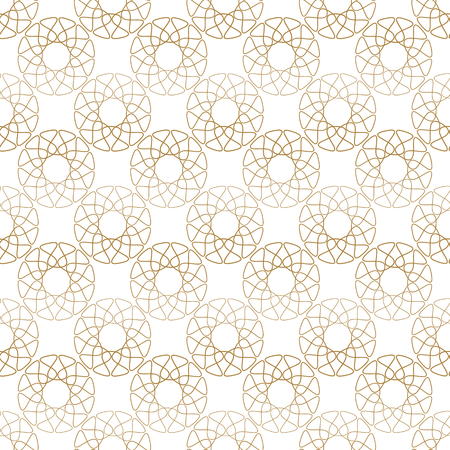 delicate arabic motif: lace abstract seamless pattern. Ethnic style background.