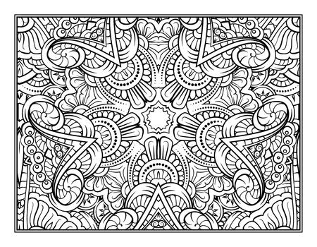 Fantasy decorative pattern