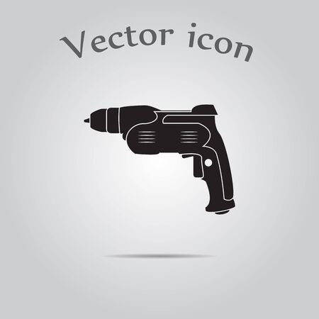 electric hole: Perforator icon. Puncher icon.