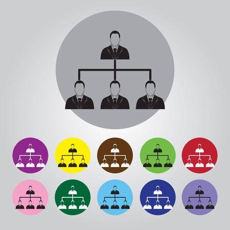 jerarqu�a: concepto de jerarqu�a corporativa.