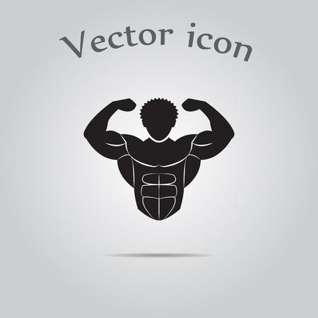 sport icona Bodybuilder