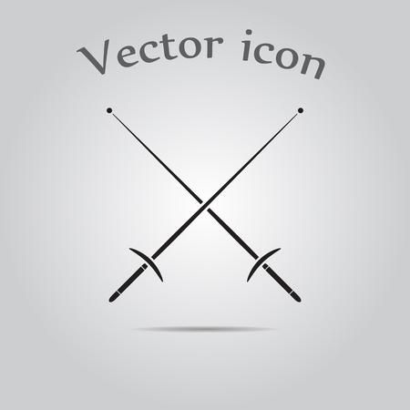 swordsmanship: Fencing sport icons