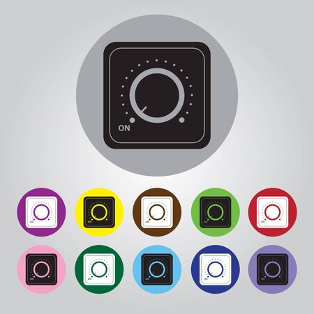 switch: Vector switch. Switch icon. Onoff icon.
