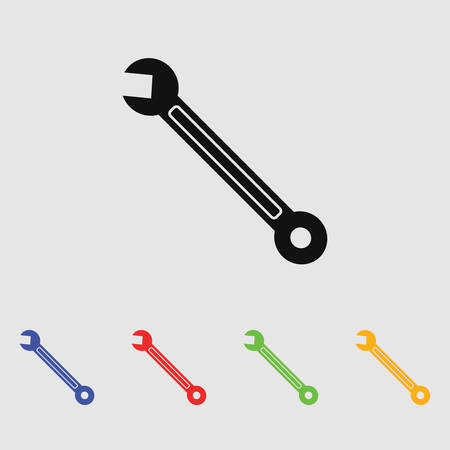 spanner: Spanner icon Wrench icon