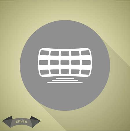 panels: Solar panels icon