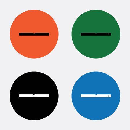 bubble level: The building level icon. Bubble Level symbol