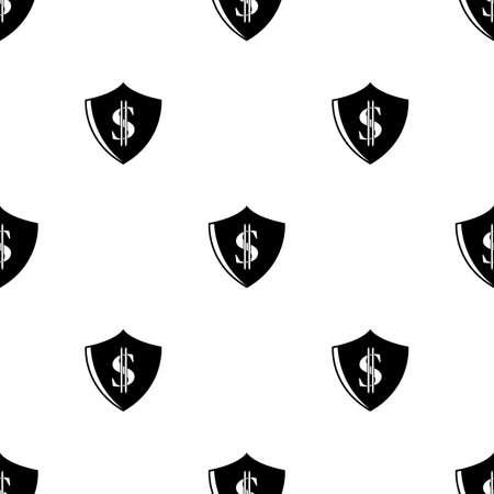 protection icon: Dollar Protection vector icon.
