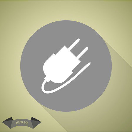 ac: The power plug for the AC grounding