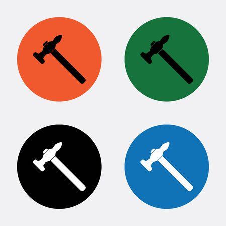 martillo: Icono de martillo  martillo del vector del icono  martillo Icono Imagen  martillo de imagen de iconos  martillo Icono Gr�fico  martillo icono del arte
