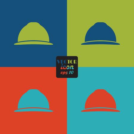 craftsmen repair: Working helmet icon