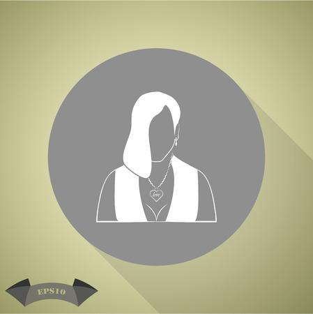 prostituta: icono de prostituta