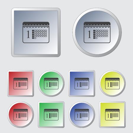 blank button: Calendar Icon  Calendar Icon Vector  Calendar Icon Picture  Calendar Icon Graphic Illustration