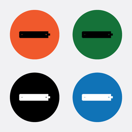 cadmium: Battery Icon, Battery Icon Vector