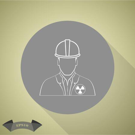 craftsmen repair: Engineer vector icon