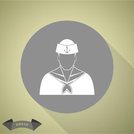 speciality: Sailor Vector icon
