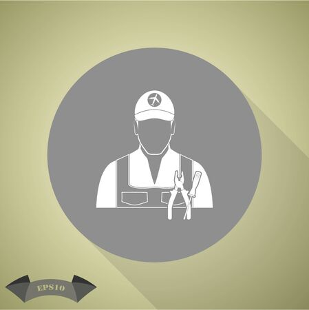 vehicle icon: mechanic icon