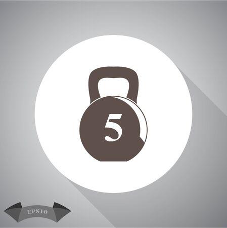 kilo: Weight sport icon