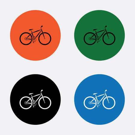 pedaling: Bicycle sport icon