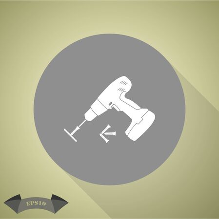 tornillos: Destornillador eléctrico con tornillos