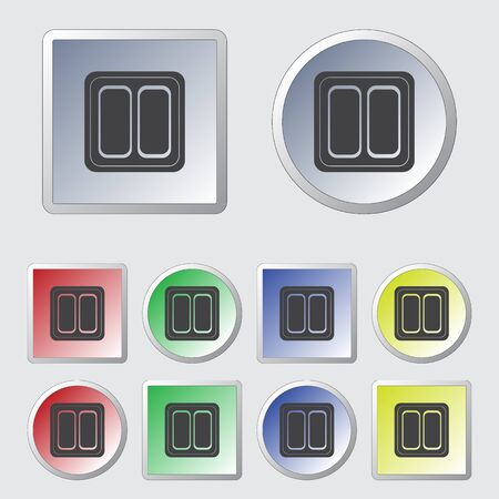 push room: Electrical Switch two buttons