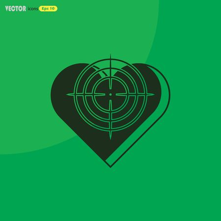 gunpoint: Heart at the gunpoint - Valentines Day icon