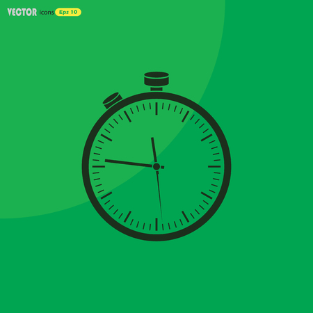 watch movement: Stopwatch sport icon