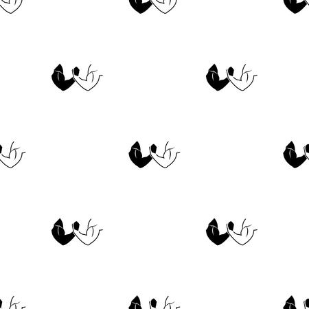 wrestle: Arm Wrestling sport icon Illustration