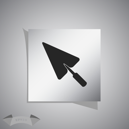 Simple icon trowel.