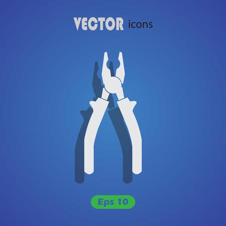 pliers: Pliers - vector icon