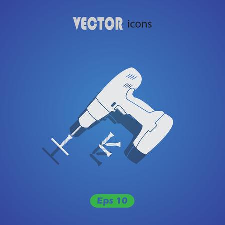 tornillos: Destornillador el�ctrico con tornillos