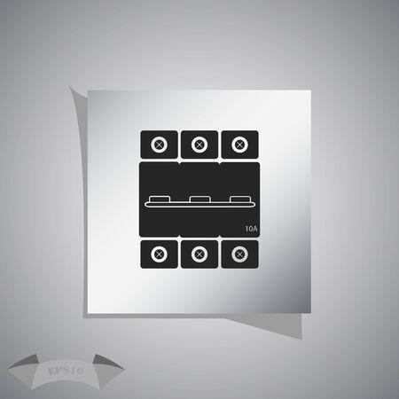 conductivity: Three-phase machine 10 amps icon