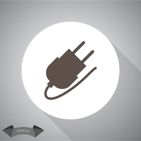 grounding: The power plug for the AC grounding