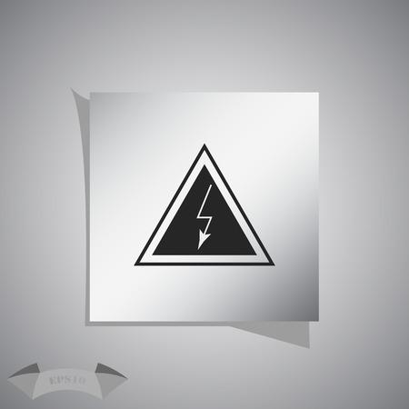 voltage danger: High voltage danger sign