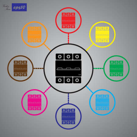 conductivity: One-phase machine 16 amps icon