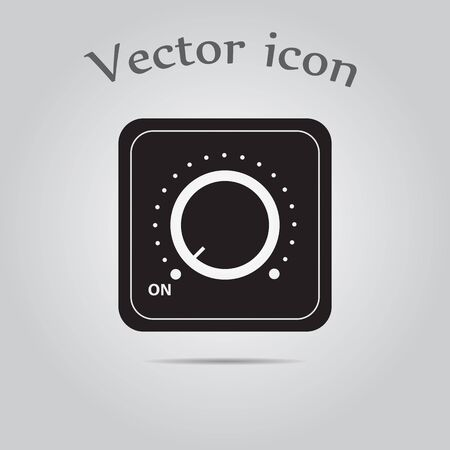 dimmer: Vector switch. Switch icon. Onoff icon.