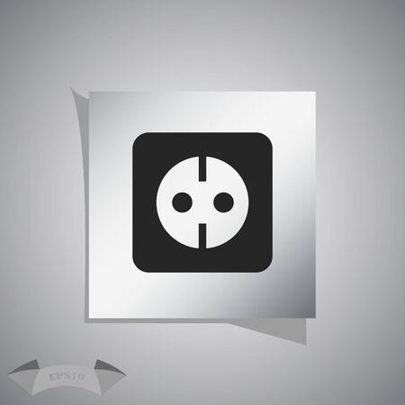 ac: Power socket for the AC grounding