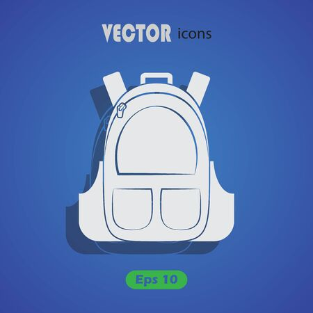 student travel: Backpack icon